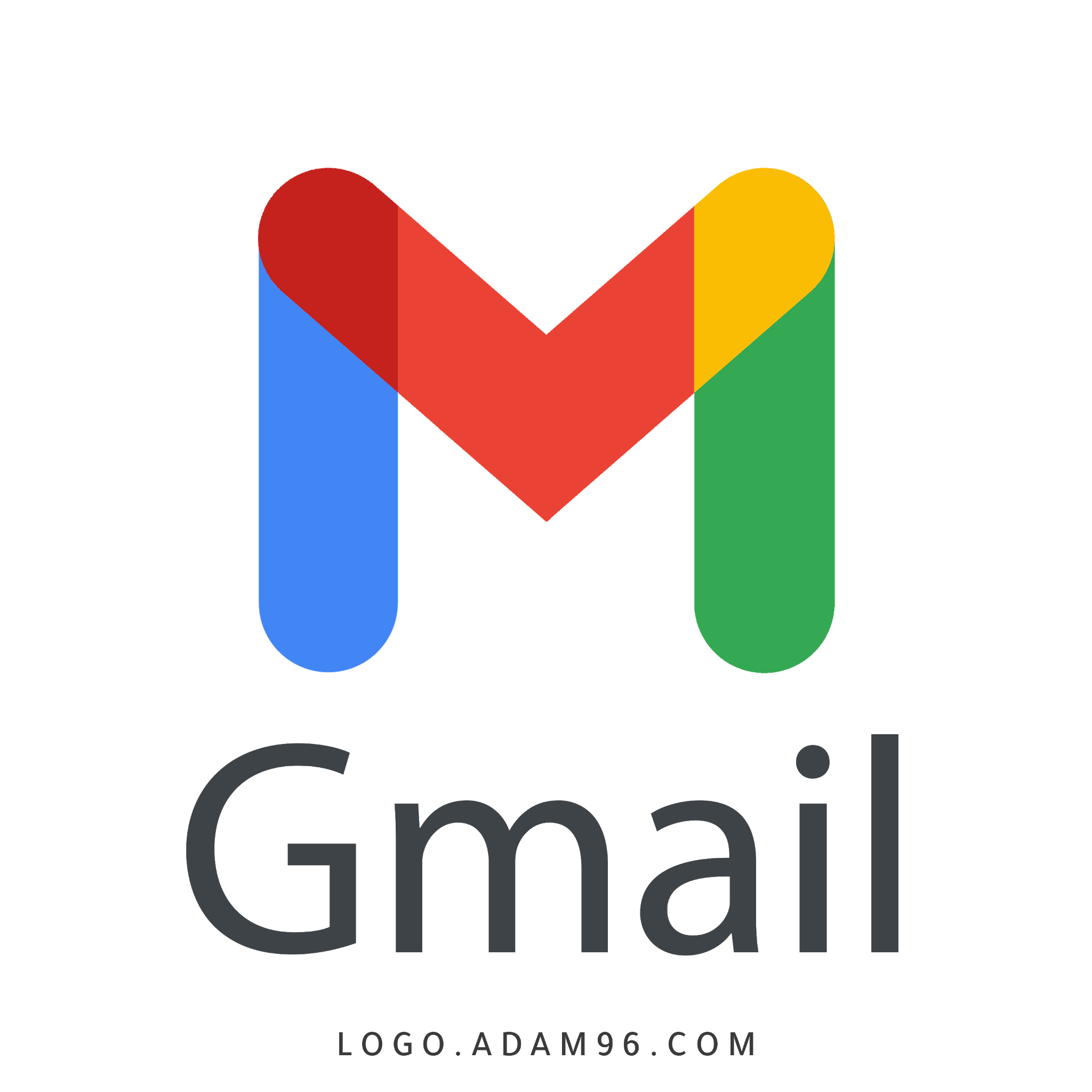 Download The New G mail Logo Original Logo PNG