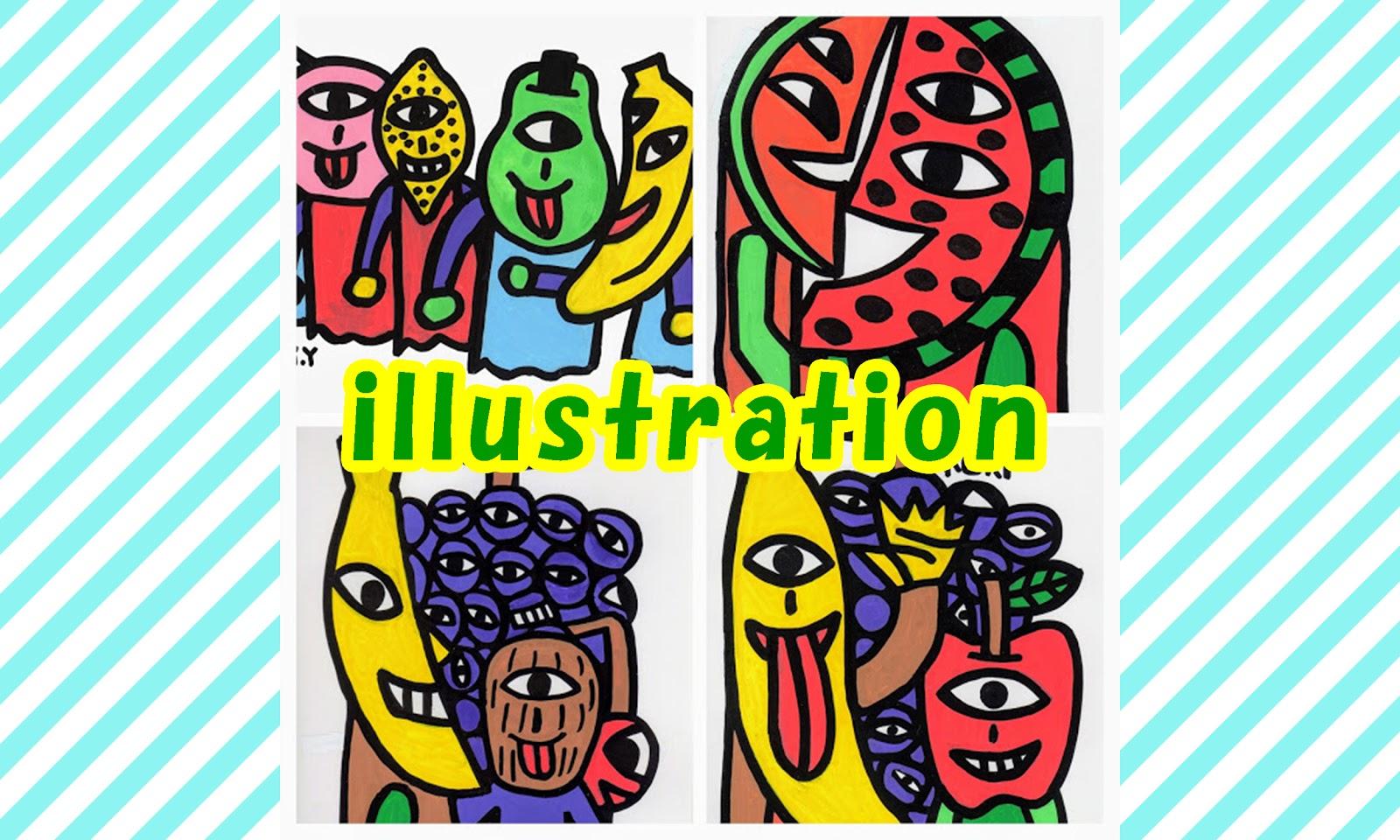 吉田圭佑アート事務所 イラスト画・アクリル画・水彩画などの絵画を描く福岡出身のアーティスト