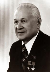 Ritratto di del general designer Vladimir Nikolaevič Čelomej