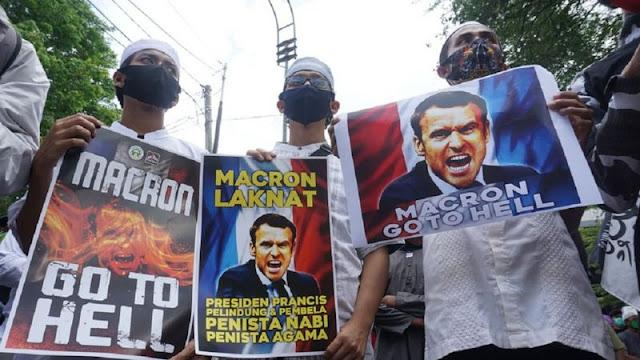 Kecaman dan Protes atas Pernyataan Macron Semakin Meluas, Presiden Prancis Dituntut Minta Maaf