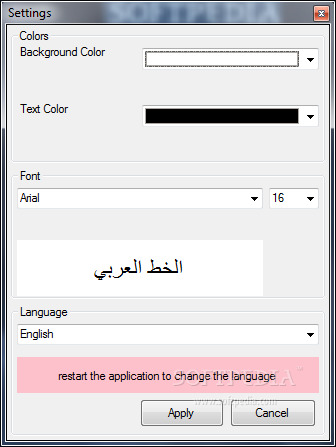 arabic text reverser