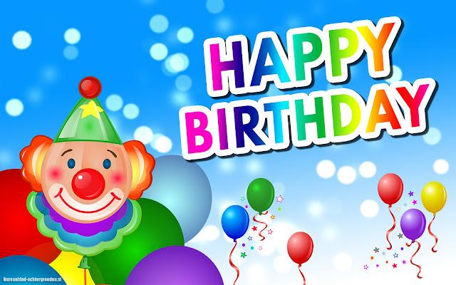 140 Verjaardagswensen Verjaardagsteksten En Felicitaties