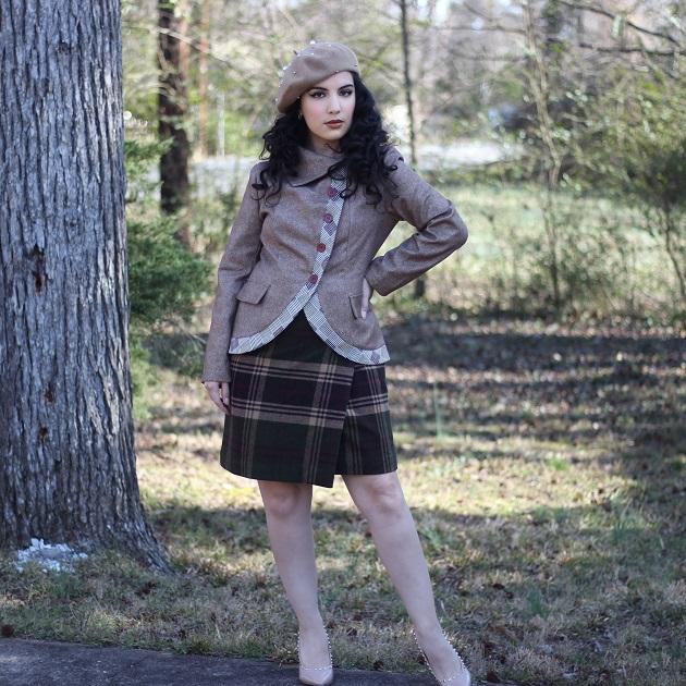 Noracora Vintage Style Jacket