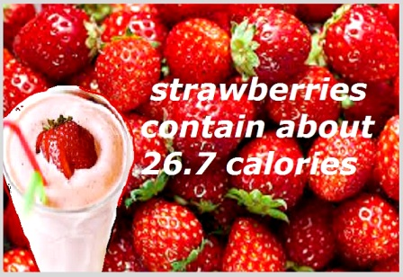 How Many Calories In Strawberry And How To Make Strawberry Smoothie And Shake