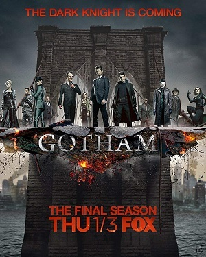 Gotham - 5ª Temporada Legendada Séries Torrent Download capa