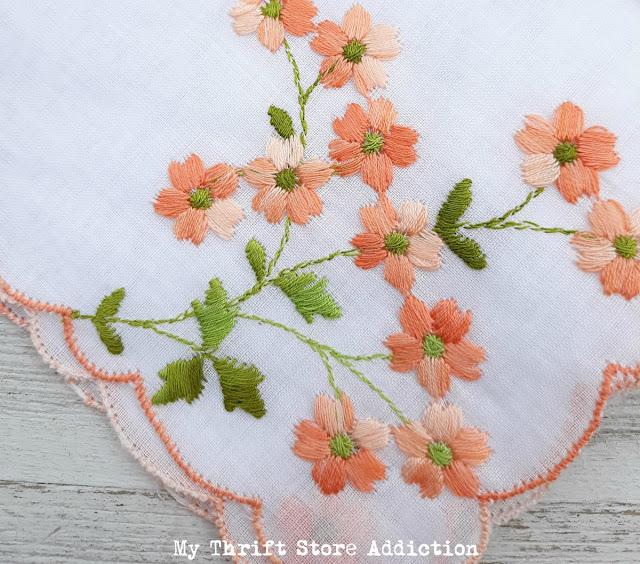 vintage embroidered hankies