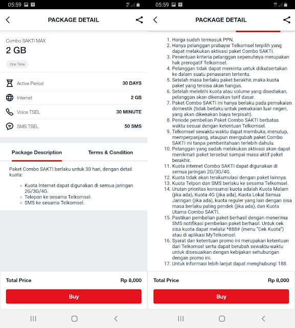 Combo Sakti Max Telkomsel 2GB