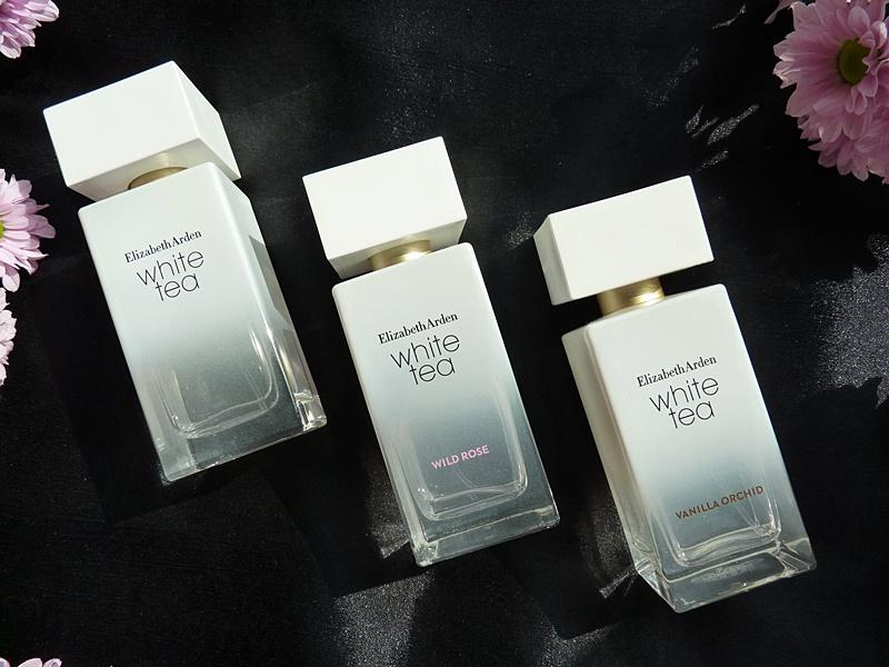 Elizabeth Arden White tea Wild rose Vanilla Orchid perfume