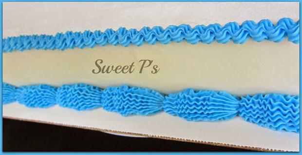 Simple Buttercream Borders Sweet ' Cake Decorating