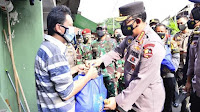 Polri sudah salurkan Bansos Sembako 723.773 Paket dan 3.863 Ton Beras
