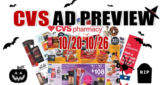 CVS Weekly Ad Preview 10-20-10-26