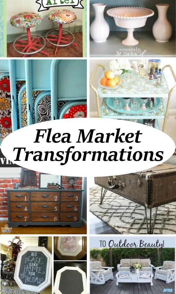 Flea Market Home Decor: DIY Home Sweet Home: Incredible Flea Market Transformations