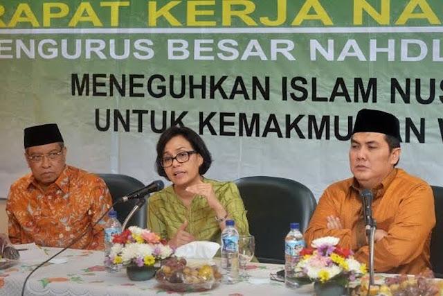 #IndonesiaSedangDirampok Trending, Sindir PBNU Rp1,5 T dan Jiwasraya