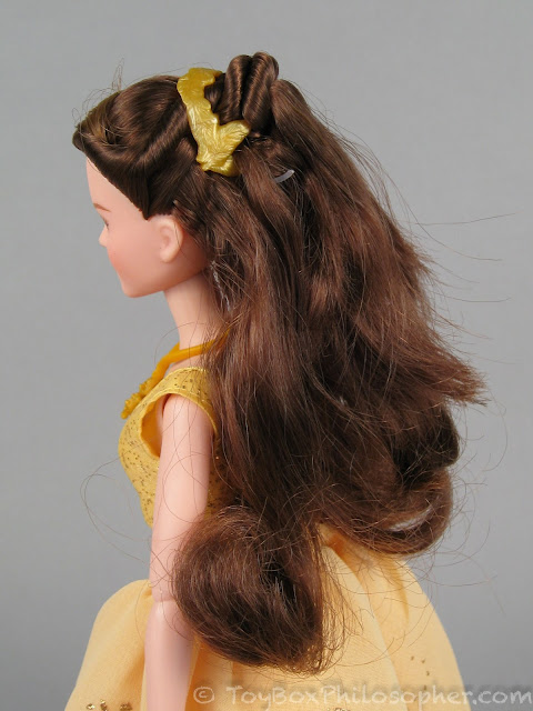 How To Create Belles Hairstyle From Beauty And The Beast : Iu003ebeauty and the beastu003c iu003e dolls by hasbro disney store