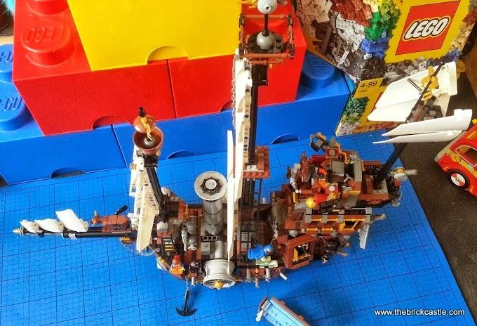 The Brick Castle The Lego Movie Metalbeard S Sea Cow 70810