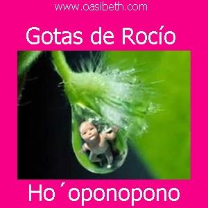HO´OPONOPONO : GOTAS DE ROCIO