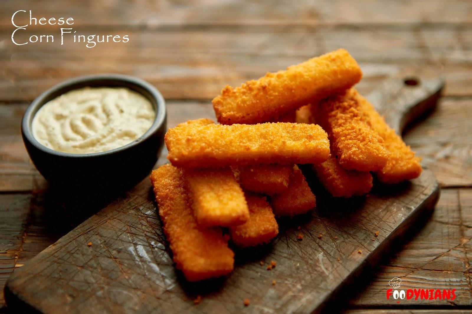 Cheese Corn Fingure, Cheese Nuggets, Veg Nuggets