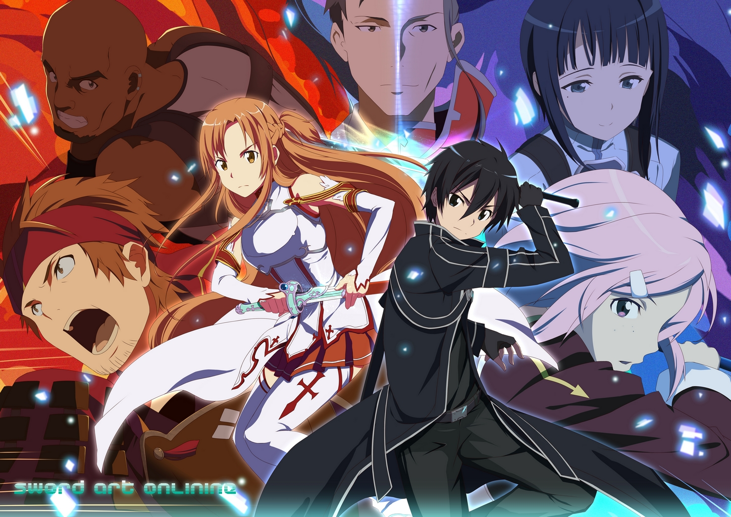 Sword Art Online S1 BD Batch Subtitle Indonesia [x265]