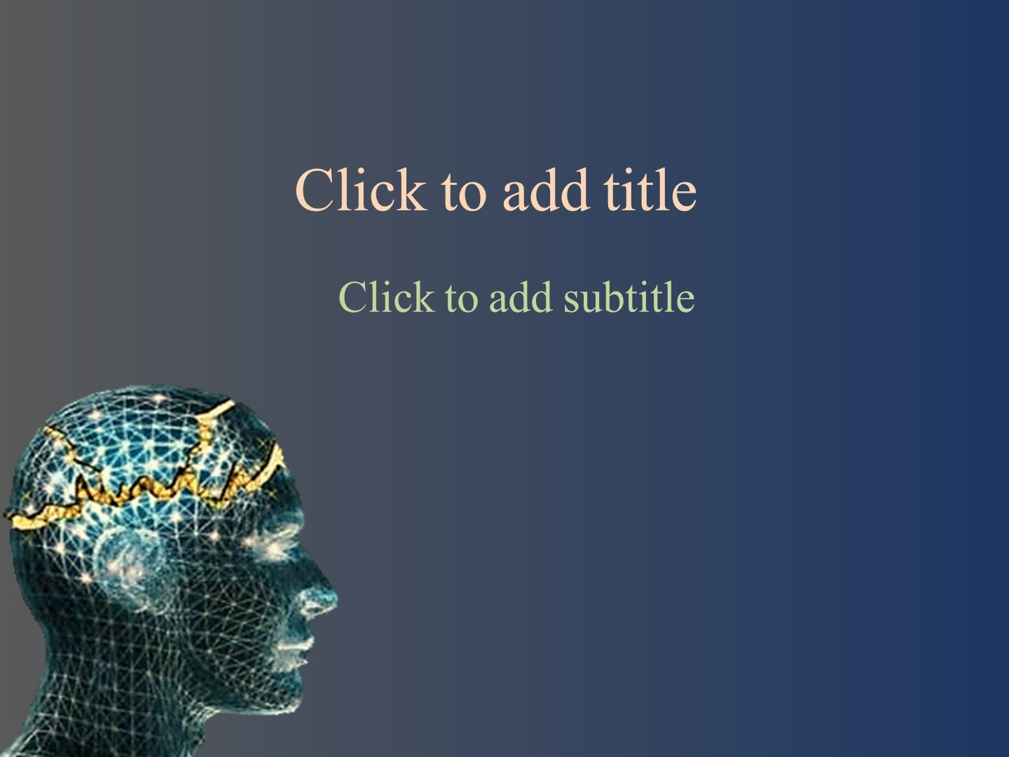 Animated Neurology Powerpoint Template Free Download