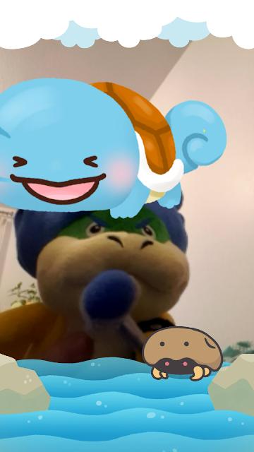 Pokémon Smile Ludwig Von Koopa plushie Plushwig Kabuto Squirtle