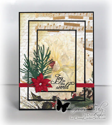 Diana Nguyen, Poppystamps, Sweet 'n Sassy stamps, Christmas