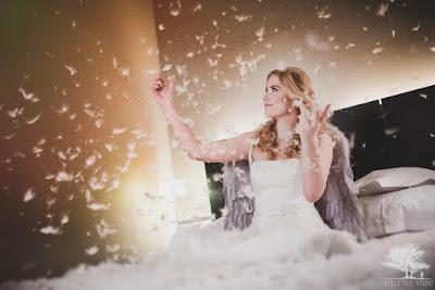 Piórka na ślubie
