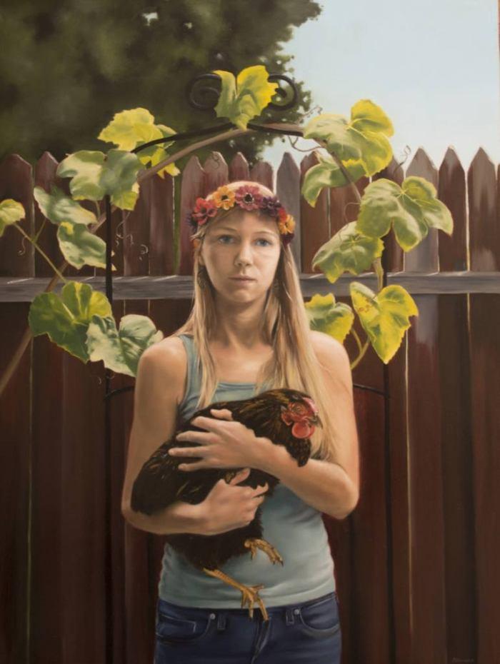 Любовь к фигуративной живописи. Candice Chovanec