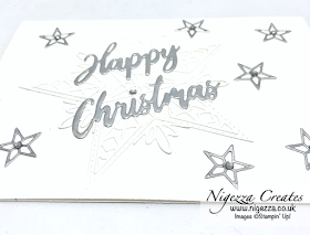 Nigezza Creates with Stampin' Up! Stitched Stars Christmas In July