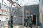 Dandim 0101/BS Selaku Dansatgas TMMD-110 Tinjau Langsung Pembangunan PAUD