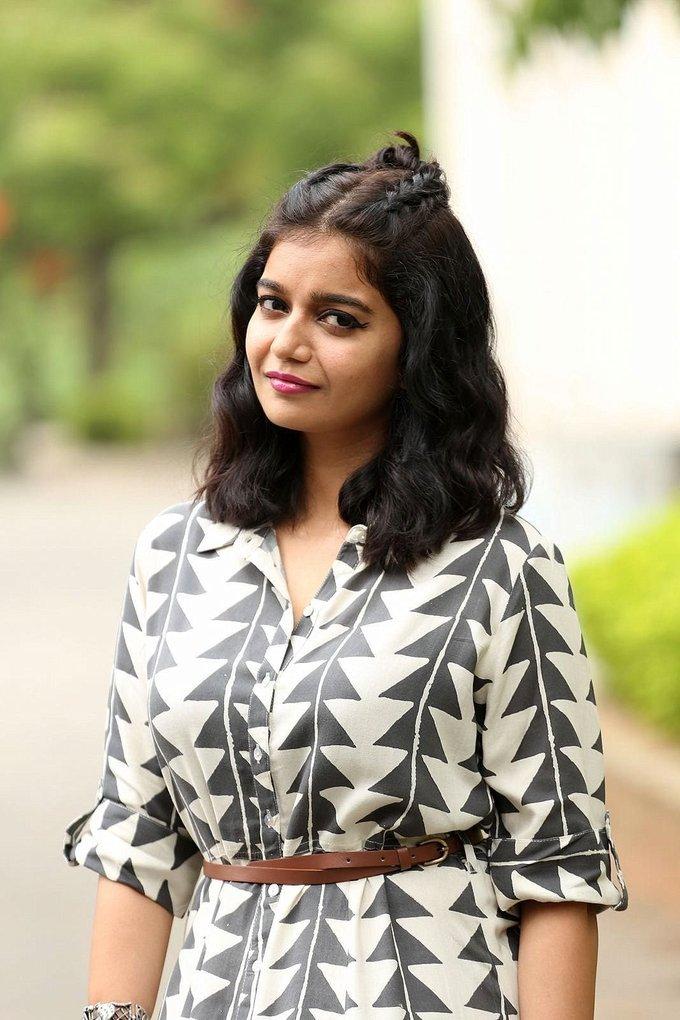 Beautiful Hyderabadi Girl Swathi Reddy Photo Shoot In Long Hair Black Dress
