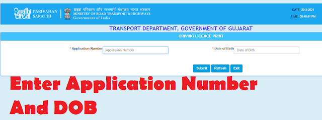 driving licence download pdf
