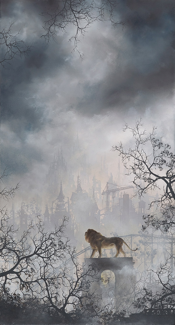 07-Lion-Brian-Mashburn-Architecture-in-Paintings-of-Urban-and-Industrial-Landscapes-www-designstack-co