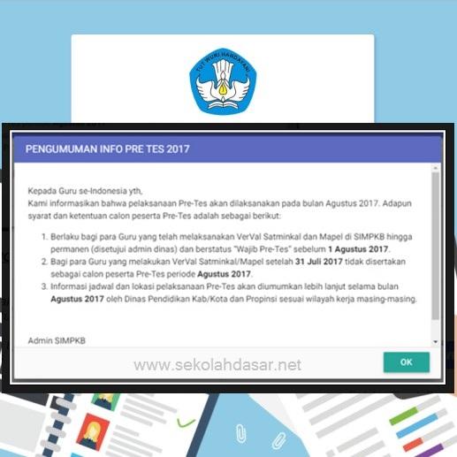 Jadwal Pre Tes Bagi Guru Di Aplikasi Sim Pkb 2017 Ilerning Tempat Cari Tau Informasi Yang