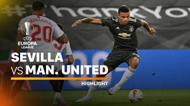 Sevilla vs Manchester United 2-1 Highlights