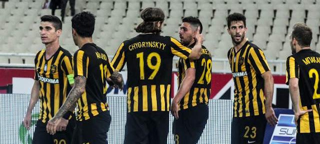 Super League: Μένει ζωντανή η ΑΕΚ, κέρδισε 1-0 τον ΠΑΟΚ