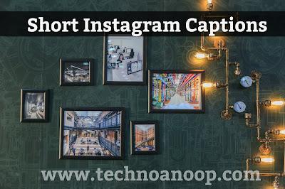 Short Instagram Caption 2019