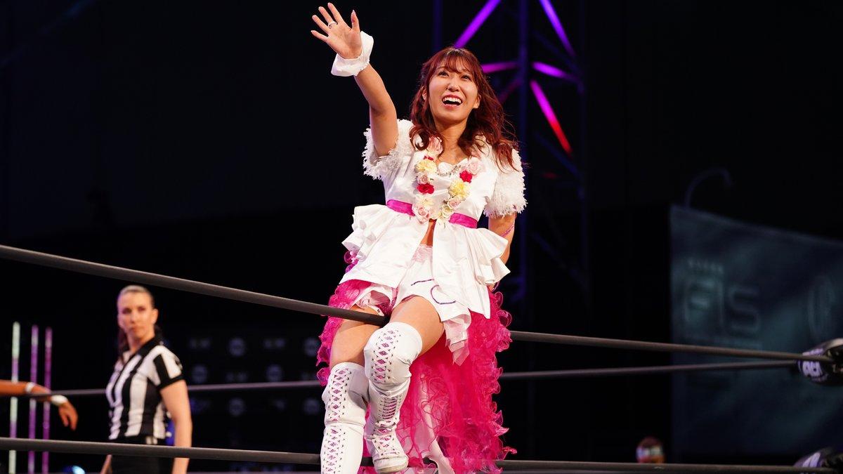 Riho voltará a ser parte recorrente da AEW