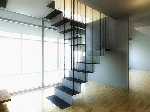 Hanging Staircase Design Type