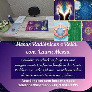 Mesa Radiônica e Reiki