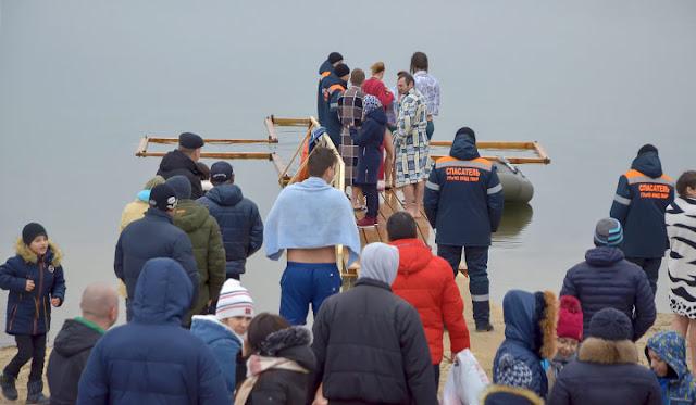 Крещение в Дубоссарах