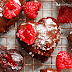 Valentines Raspberry Heart Brownies