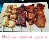 restaurant Madama chinois japonais