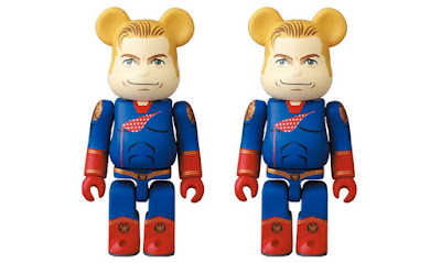 The Boys Homelander 100% Be@rbrick Vinyl Figure by Medicom Toy