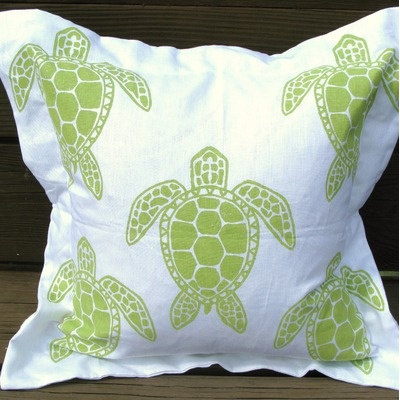 sea turtle bathroom decor- pinterest inspired creativity - one