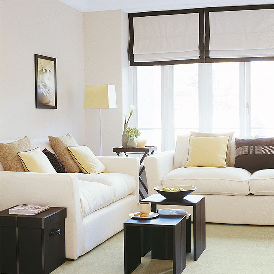 Cream Soft Fabric Sofa Atlanta Sectional New Home Interior Design: Good Collection Of Living Room ...