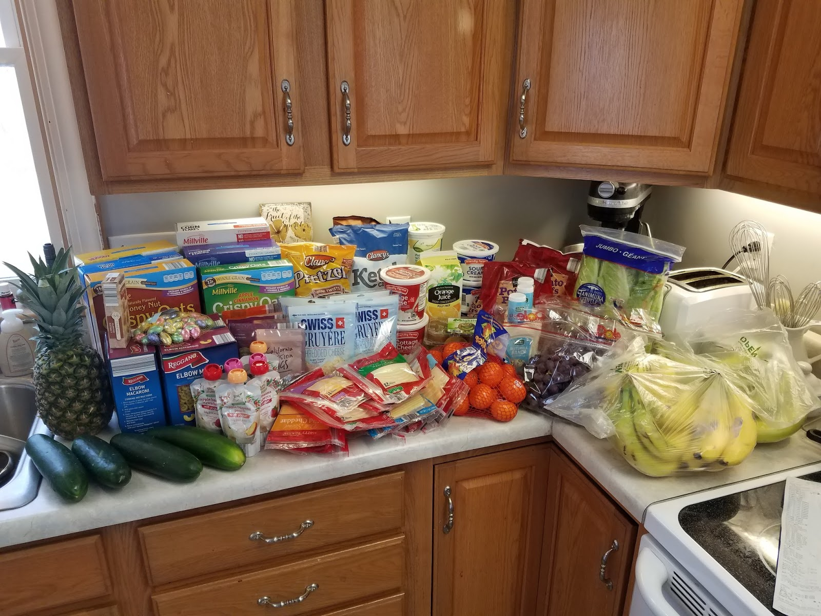 My Country Cupboard: Monthly(-ish) Grocery Shopping at Aldi