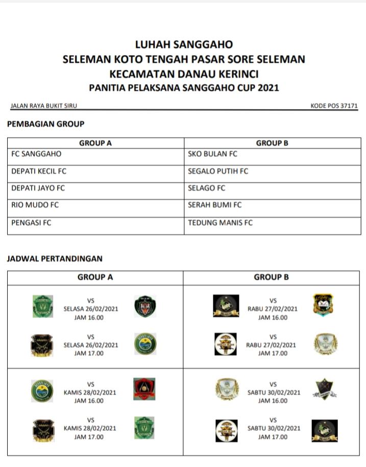 Bakal Seru, Laga Selago FC Vs Sko Bulan FC Hari Ini