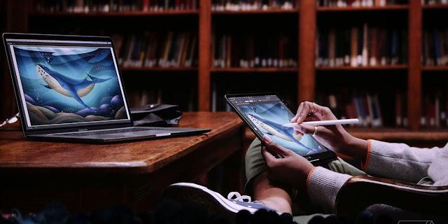 【MAC 幹大事】iPad 馬上擴充變成 Mac 第二螢幕 (並行 Sidecar) - iPad 搖身一變,就成為了繪圖創作工具