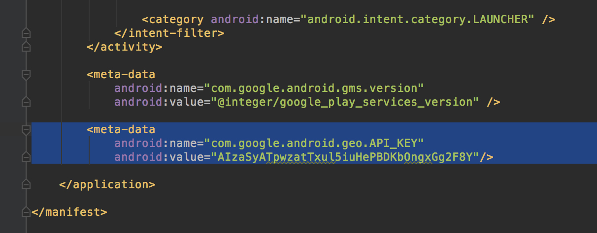 Android Code] การใช้งาน Google Maps Android API บน Android