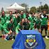 Entrega de trofeos de la Copa de Plata de Fútbol Femenino